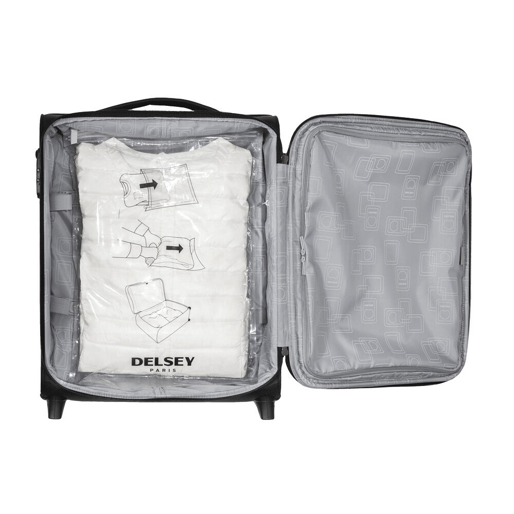 Accessory White Xs Delsey Vacum Travel Bag Tn Vacuum Storage Bags